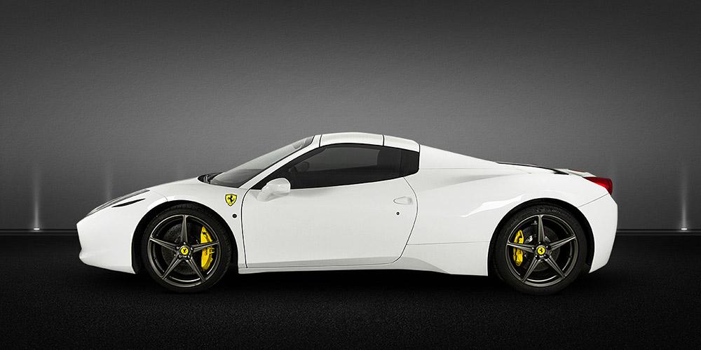 Alquilar Ferrari 458 Spider en Barcelona