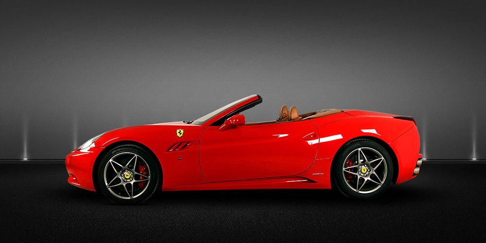 Conducir Ferrari California en Barcelona