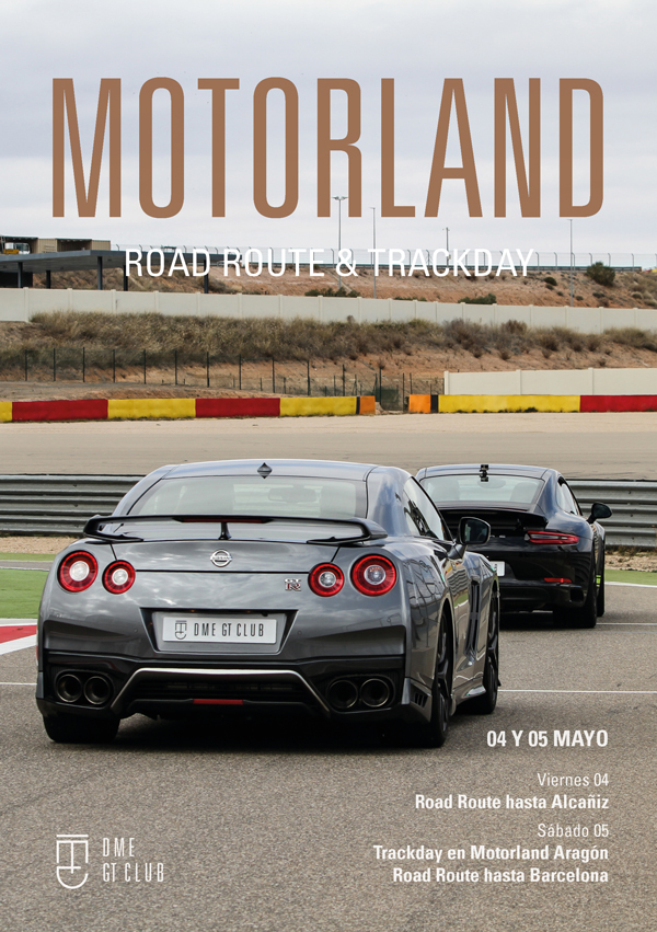 Motorland trackday and Road Route