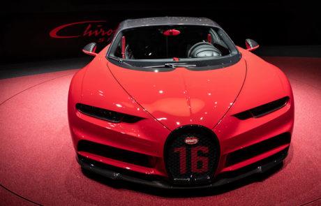 Bugatti 16 en el Salón del Automóvil de Ginebra 2018