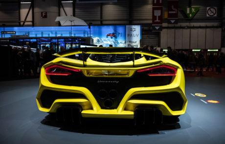 Hennessey Salón del Automóvil de Ginebra
