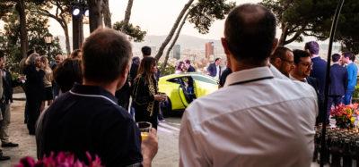 Presentacion Aston Martin Vantage GT Club