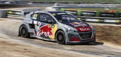 rally cross barcelona peugeot WRX