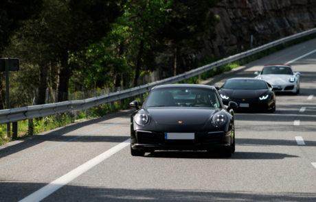 Porsche ruta berguedà GT CLUB DME