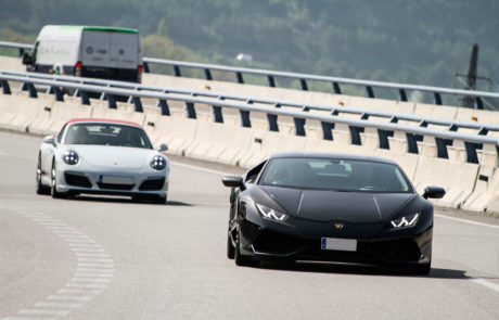 Lamborghini Porsche ruta DME