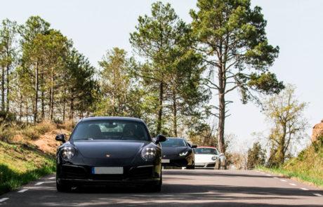 Porsche bosque ruta DME