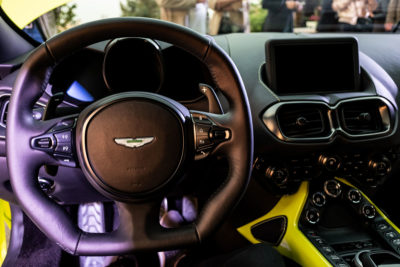 Aston Martin Vantage Presentacion DME GT Club Volante