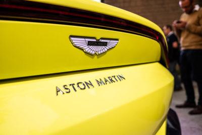 Aston Martin Vantage Presentacion DME GT Club detalle