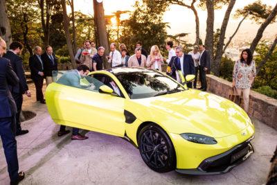 Aston Martin Vantage Evento Presentacion DME GT Club