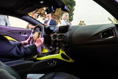 Interior Aston Martin Vantage Presentacion DME GT Club