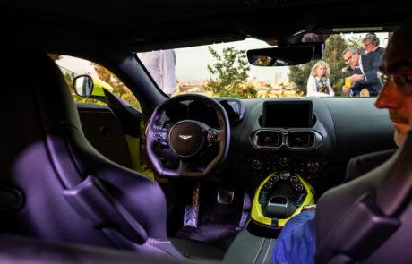 Aston Martin Vantage Presentacion DME GT Club Interior