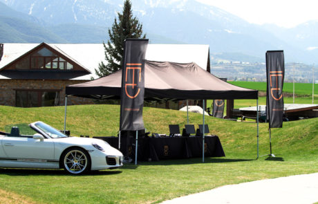 Stand DME GT Club Golf Fontanals Porsche