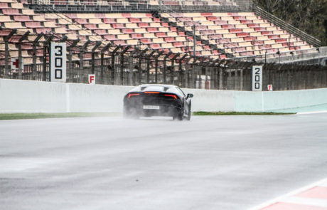 Trackday lamborghini Circuit de Catalunya