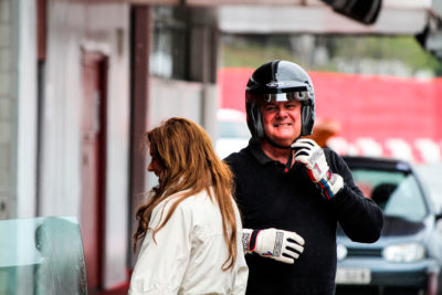 trackday driver pitline montmelo
