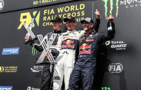Podium Sebastian Loeb WRX GT Club