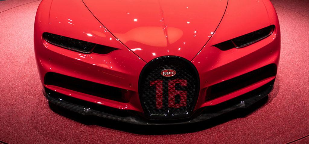 Bugatti Salón del Automóvil de Ginebra 2018