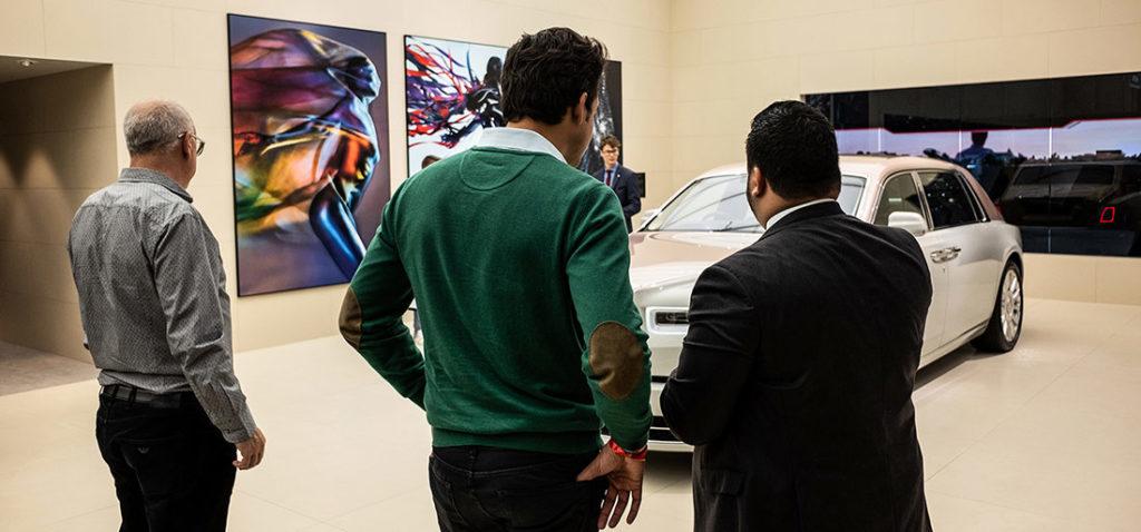 DME GT Club visitando el Salón del Automóvil de Ginebra