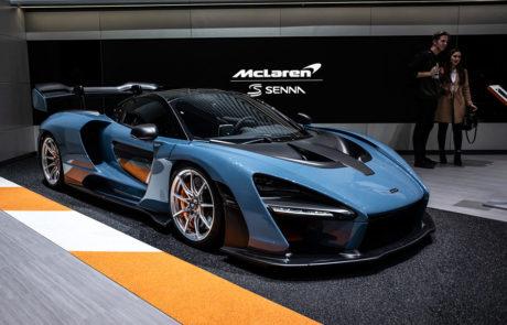 McLaren Senna Salón del Automóvil de Ginebra 2018
