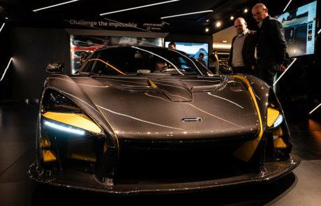 McLaren en el Salón del Automóvil de Ginebra 2018