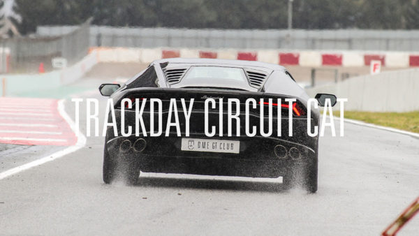 Trackday Montmelo Barcelona Dme GT Club