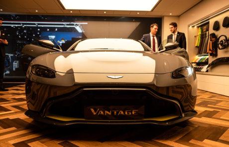 Aston Martin Vantage en el Salón del Automóvil de Ginebra 2018