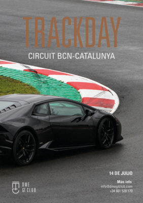 Lightroom Trackday CircuitCat DME GT Club