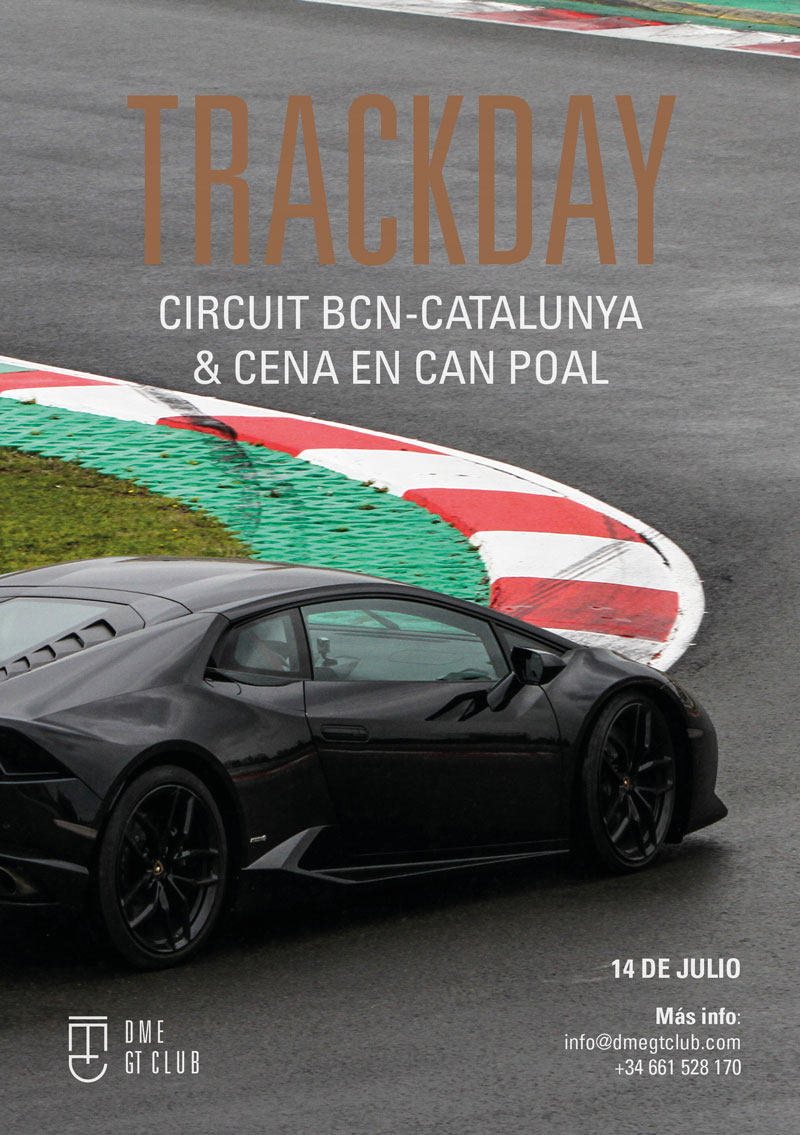 Lamborghini huracan Montmeló track day