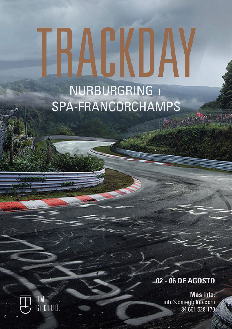 Track Day Spa Nurburgring