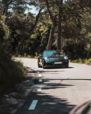 Porsche 911 negro