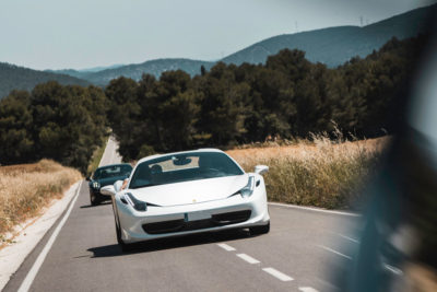 Ferrari 458 blanco