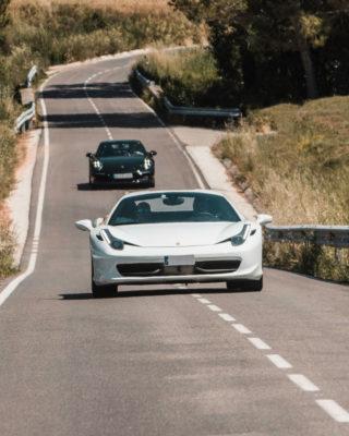 Ferrari 458 porsche carrera 911