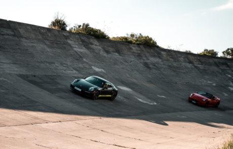 Porsche carrera 911 ferrari california autodromo terramar DME GT CLUB autobello
