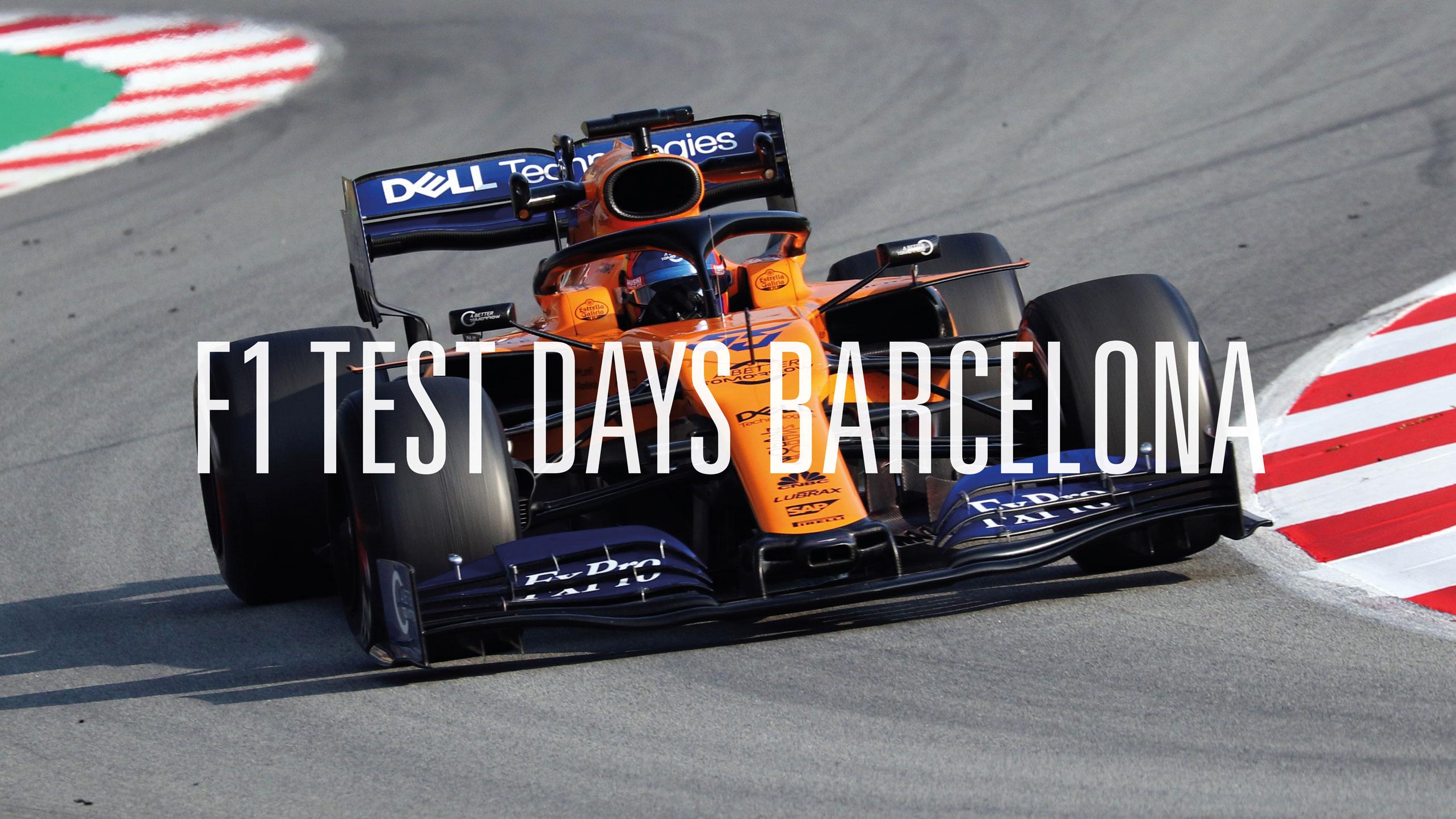 F1 Tests 2019