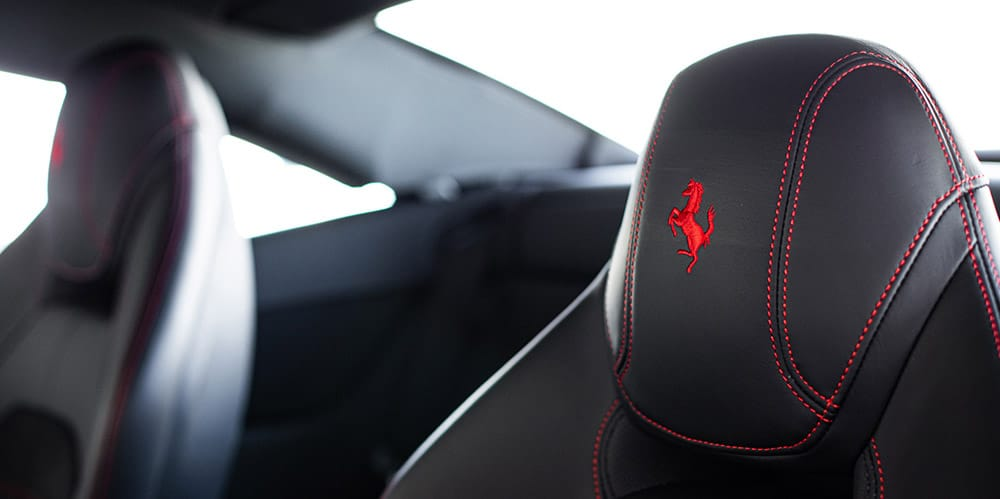Ferrari California T seats