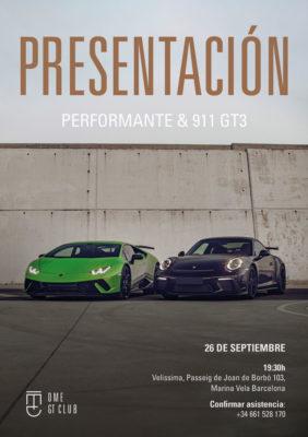 DME GT CLUB Performante GT3
