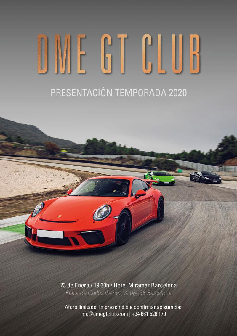 DME GT CLUB Presentacion 2020